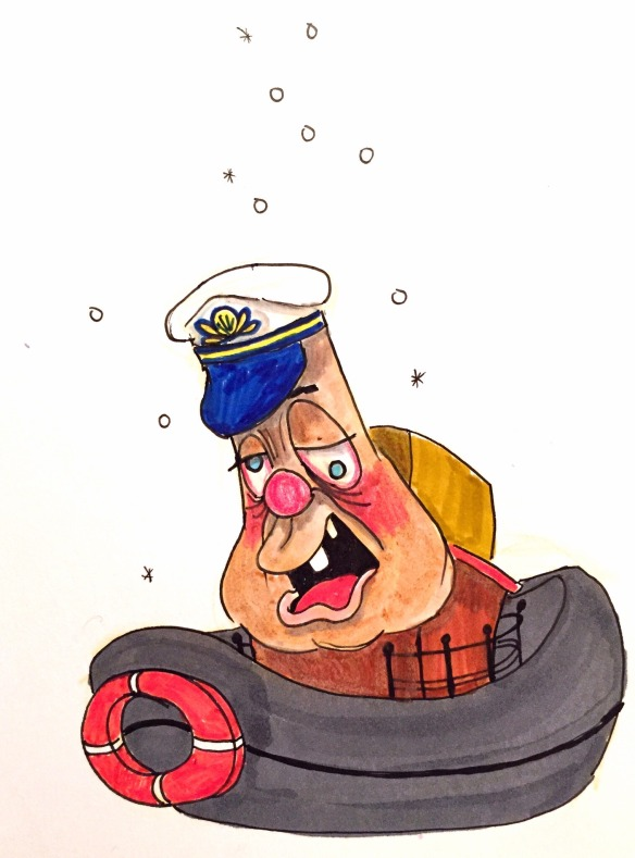 Drunk Boat illustration by Mary Brown