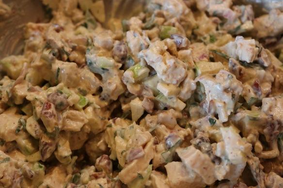 Ben's Garam Masala Chicken Salad