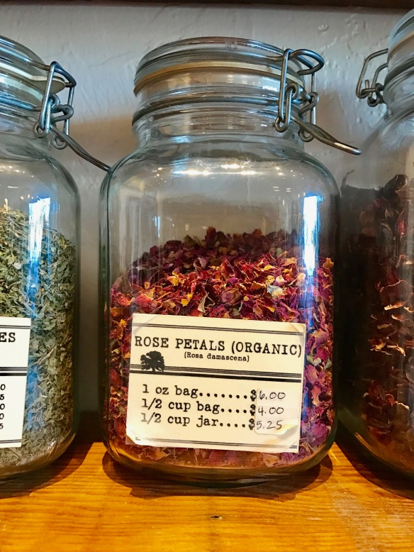 This jar smells like spring