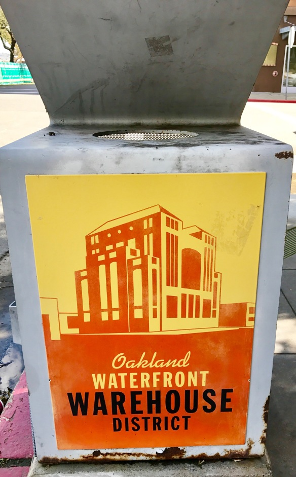 Oakland's Warehouse District